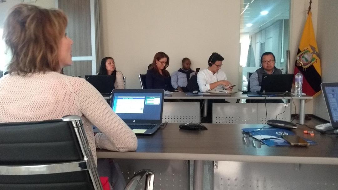 Traducción simultánea para la FAO en Quito
