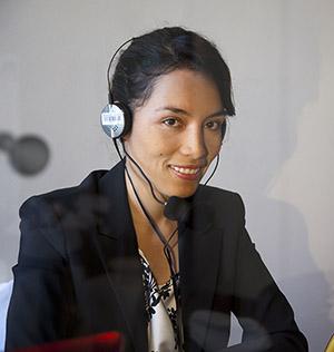 Language interpretation for ZOOM virtual meetings